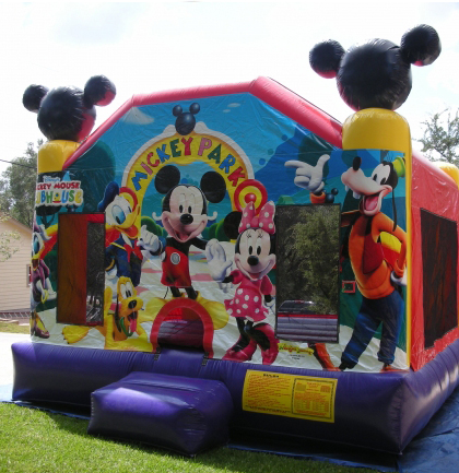 rent mickey mouse bounce house long island