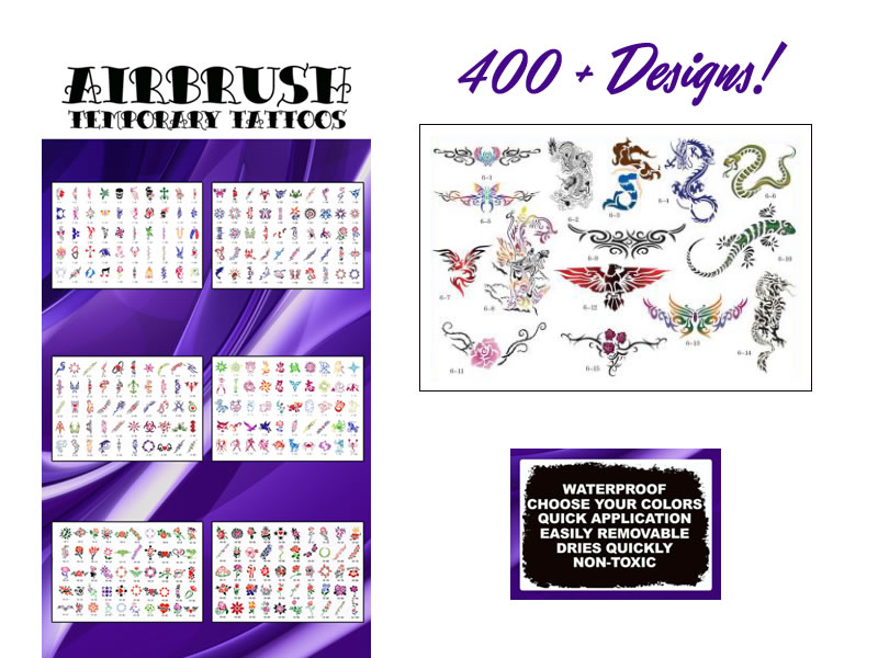 Choose from over 400 designs