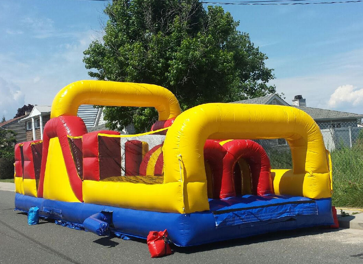 30 ft obstacle course rental long island
