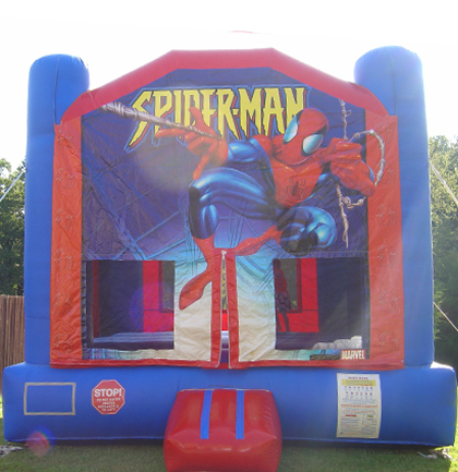 rent spiderman bounce house long island