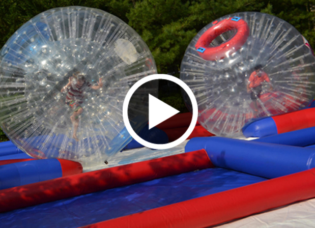 Zorb Ball Rentals by Ovation Event Rentals